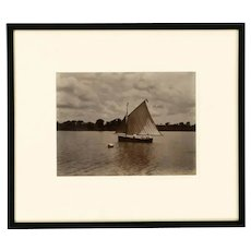 A rare framed Albumen print attributed to John Valentine