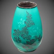 A Showa period cloisonné vase by Tamura