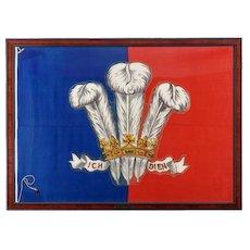 The Duke of Windsor's racing flag from Royal Yacht Britannia