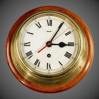 "7 3/4 ""dial Smith's Astral ship's bulkhead clock"