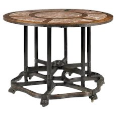 Anglo-Chinese picnic table