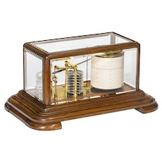 An early mahogany barograph by Cary 19th century