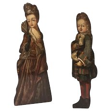Pair of 18th century Dummy Boards