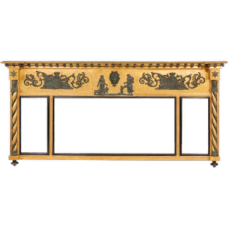 A George III Nelson Commemorative over-mantle Mirror