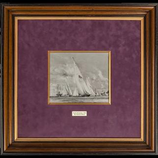 Charles Dix 108 on R.A. for King George V, Royal Yacht Britannia