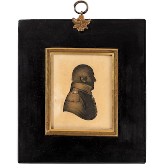 Admiral Sir Thomas Hardy's silhouette by John Field