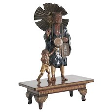Japanese Bronze antique Oni Group