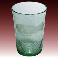 1950s Glass Vase