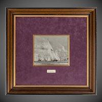 Charles Dixon 108 on R.A. for King George V, Royal Yacht Britannia