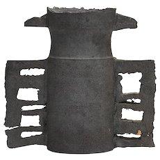 Colin Pearson British Studio Pottery Black Handled Vessel