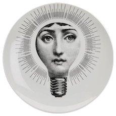 Vintage Italian Fornasetti Plate 'Tema E Varazioni'
