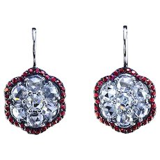 Diamond and ruby drops