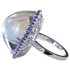 33.3 ct Lollipop™ halo ring