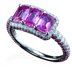 Montpassier™ three-stone ring