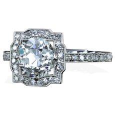 1.66 ct H/SI2 old european cut diamond