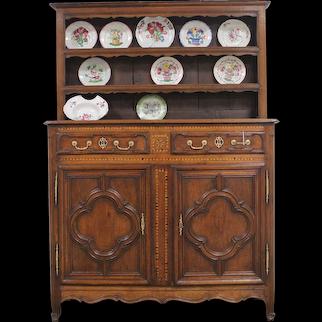 18th Antique French Oak Buffet Louis XV period
