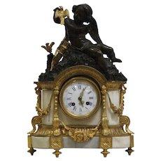 19th Century Louis XVI style Ormolu Mantel Clock