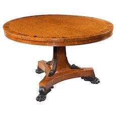 Antique circular table