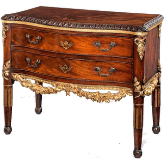 18th century Commode Chest of Drawers