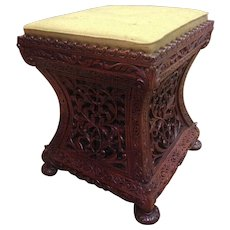 Western Indian blackwood seat