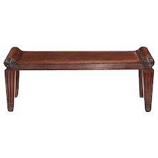 Regency hall bench