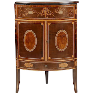18th Century Corner Washstand