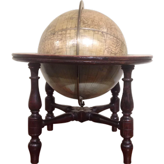 Rare Table Globe