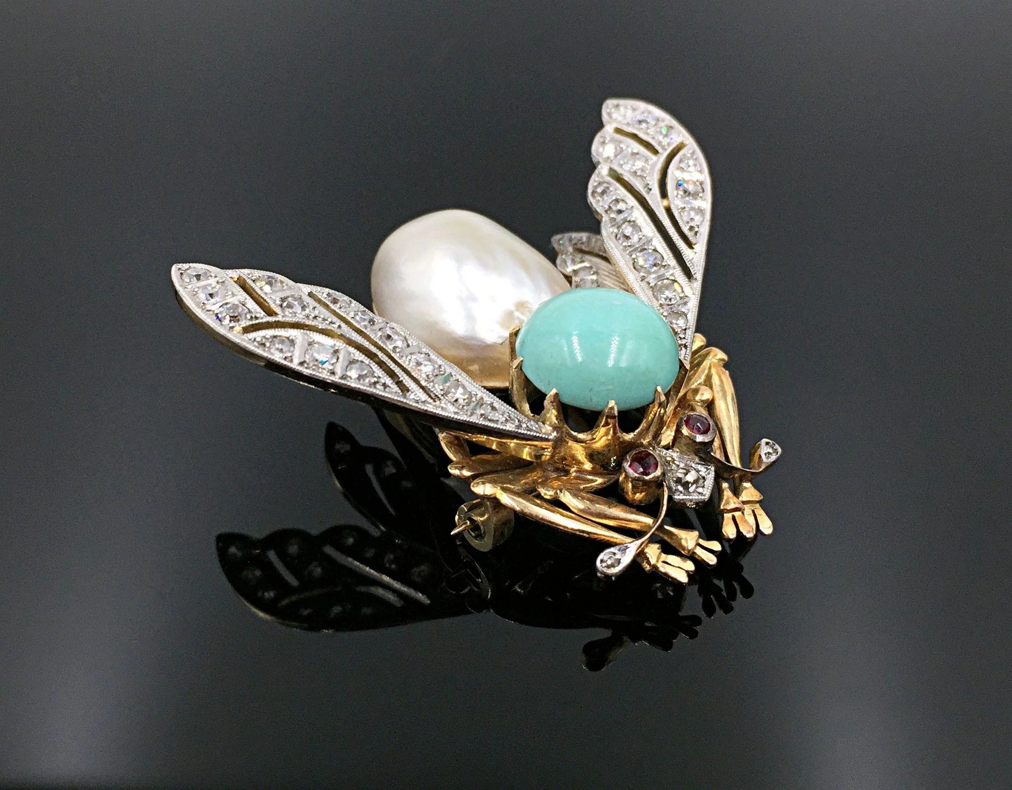 ring diamond white item rare beauty in turquoise and expand sleeping click gold full to