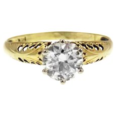 Maisy-Transitional Brilliant Diamond 1.17 ctw Engagement Ring