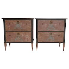20th Century Gustavian Style Chests