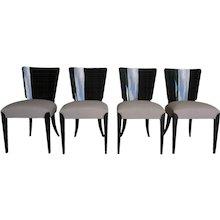 20th Century Halabala Art Deco Chairs