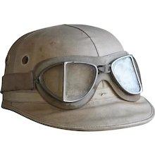 Vintage Racing Helmet