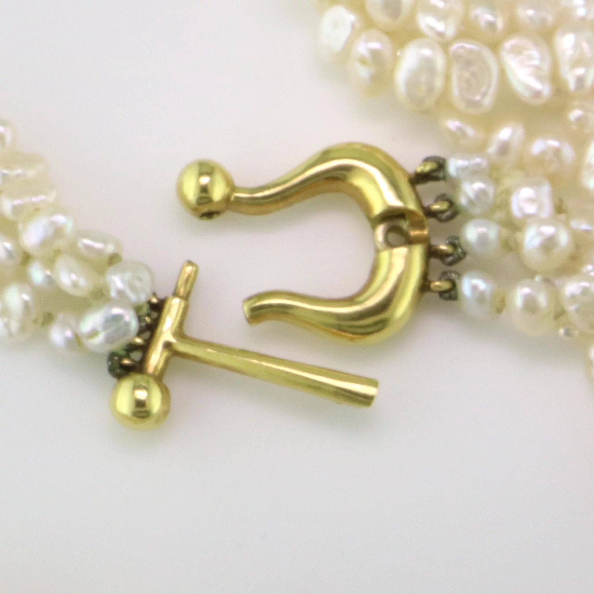 e3a837783c908 Tiffany 18K & Pearl Necklace by Paloma Picasso