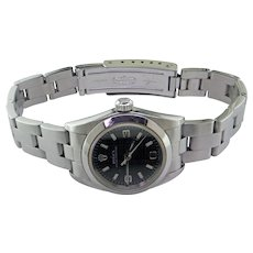 Lady's Rolex Oyster Perpetual Watch