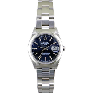 Rolex Date Stainless Steel Automatic Watch