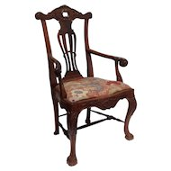 Rosewood Armchair Portuguese 17th c.