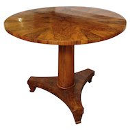 Biedermeier Round Table 37""