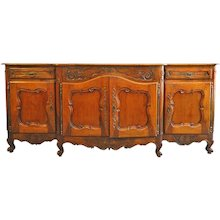 """French Fruitwood Buffet 18th Century 94"""""""