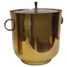 Brass Ice Bucket by Tommi Parzinger