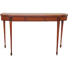 Hepplewhite Satinwood Console Table
