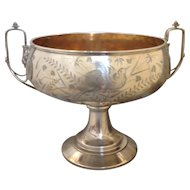 Aesthetic Movement Sterling Compote