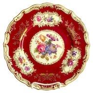 Two Dozen Copeland Spode Floral 24 Plates