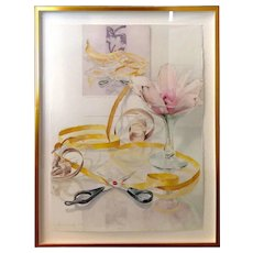 Anstis Lundy Watercolor Titled Doesn't Measure Up