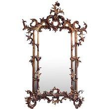 English Rococo Period Mirror