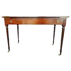 Mahogany Game Table Writing Desk 19th c