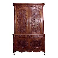 18th Century Louis XV Walnut Buffet du Corps
