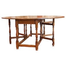 Lemonwood Drop Leaf Gateleg Wake Table