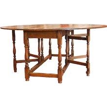 Lemonwood Drop Leaf Gateleg Wake Table
