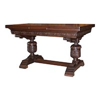 Oak Renaissance Draw Leaf Table