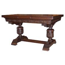 Oak Renaissance Draw Leaf Table